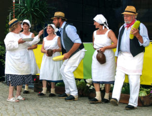 Trachtenverein Briesensee beim Spreewald- und Schützenfest Lübbenau