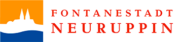 Logo Fontanestadt Neuruppin, Brandenburger Dorf- und Erntefest 2020 in Wulkow, Neuruppin